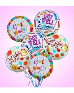 Air-Rangement - Get Well Mylar Balloon