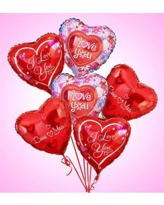 Air-Rangement - I Love You Mylar Balloon