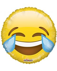 Emoji Laughing Tears Balloon