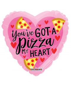 You've Got a Pizza my Heart Balloon