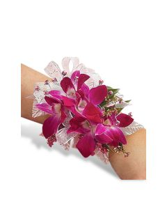 Glamourous Orchid Corsage