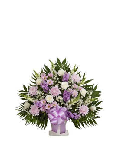 Tribute Basket In Lavender