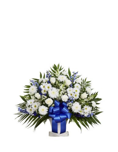 Tribute Basket In Blue