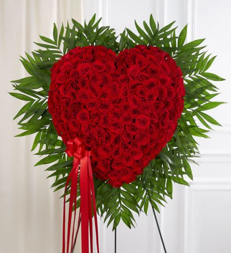 Bleeding Heart Rose Wreath