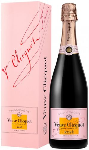 Veuve Clicquot Pink Rose' Champagne