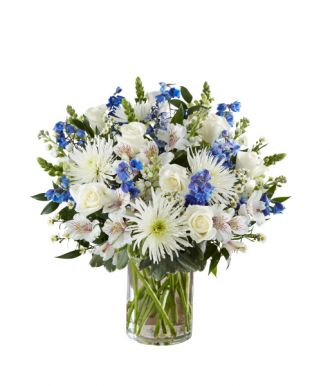 Sincerest Sorrow in Blue & White