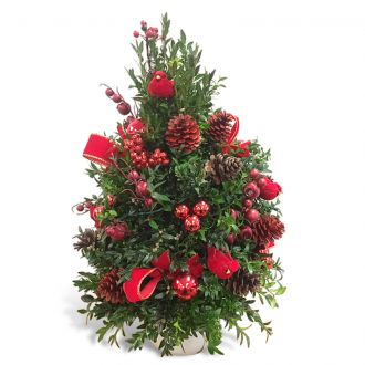 Boxwood Holiday Tree