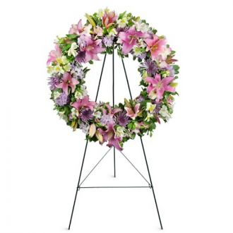 Encircled By Love Wreath